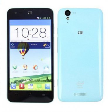 ZTE Geek V975 5 Inch Single SIM Card Android 4.2 Cell Phone - Intel Atom Z2580 Phone WiFi Bluetooth