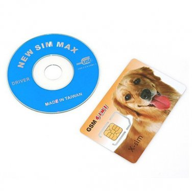 High  Quality   6 in 1 USB SIM card Reader / Writer + Sim Max Card  With Free Shipping
