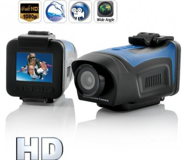 30 FPS  1080P HD  Sports Action Camera  -   Xdreme HD Waterproof Camcorder  HDMI