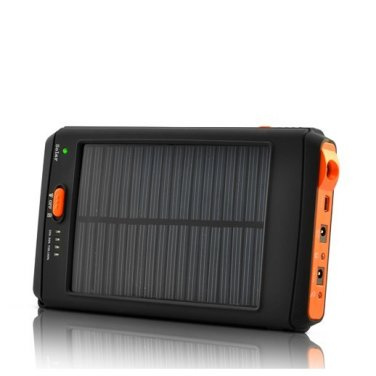 11200mAh Portable Solar Battery Charger - Power Bank for iPad iPhone Mobile Phone GPS Laptop