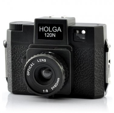 Wholesale Holga 120N Plastic Lens Medium Format Camera - Adjustable Focus Cam