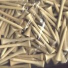 "500  2 1/8"" golf tees  -  Natural"