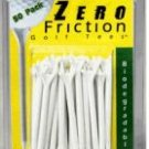 "100 2 3/4""  Zero Friction golf tees  -  White"
