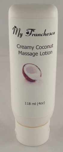 My Franchesca 6 oz Creamy Coconut scented Massage Lotion