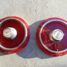 1962 ford tail light lens pair sae-r 62 fd  1962 Ford Galaxie Taillight
