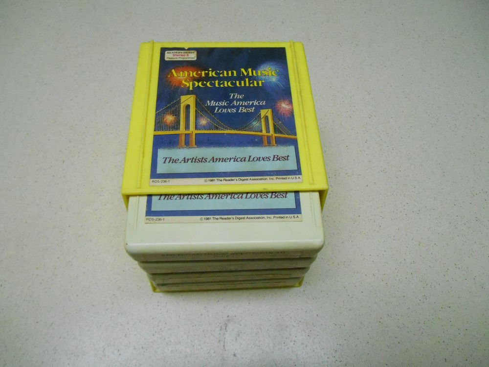 American Music Spectacular vintage tapes