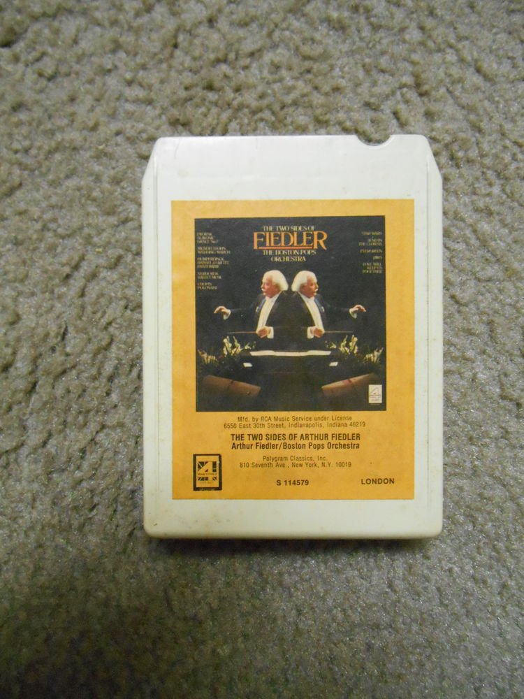 Vintage Tape Arthur Fiedler, The Boston Pops Orchestra, The two sides of Fiedler