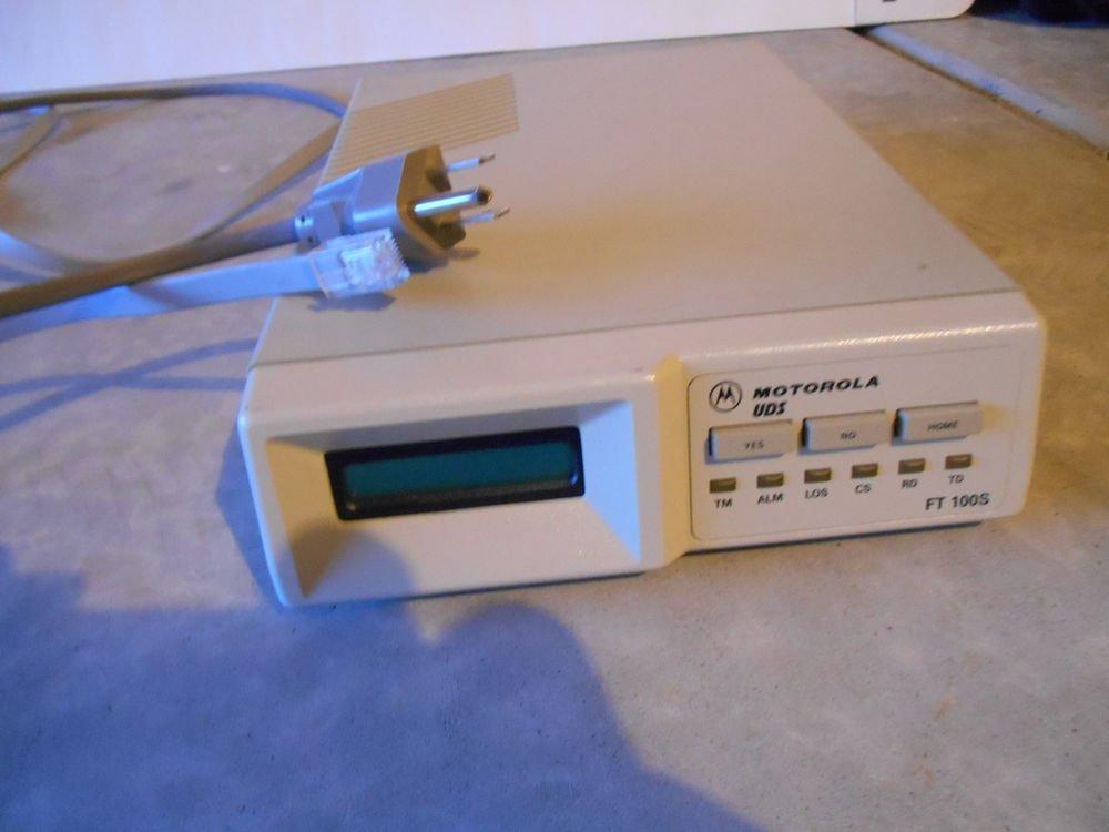 Motorola FT100S Multiplexer T1 CSU / DSU w/ Cables