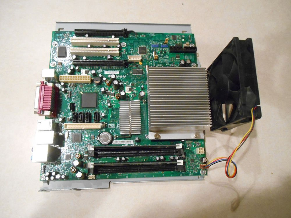 D50908-205 Core 2 Duo, 1.86 Ghz, 2GB RAM Gateway E-6610D Motherboard set