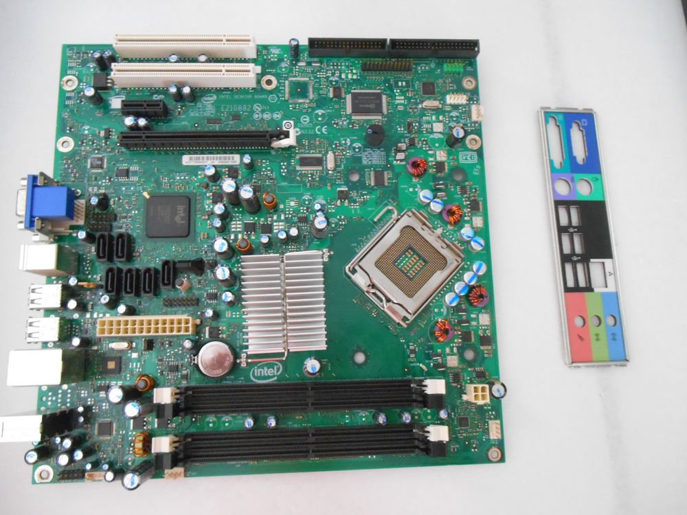GENUINE INTEL MOTHERBOARD FOR GATEWAY, D36265-505 TESTED