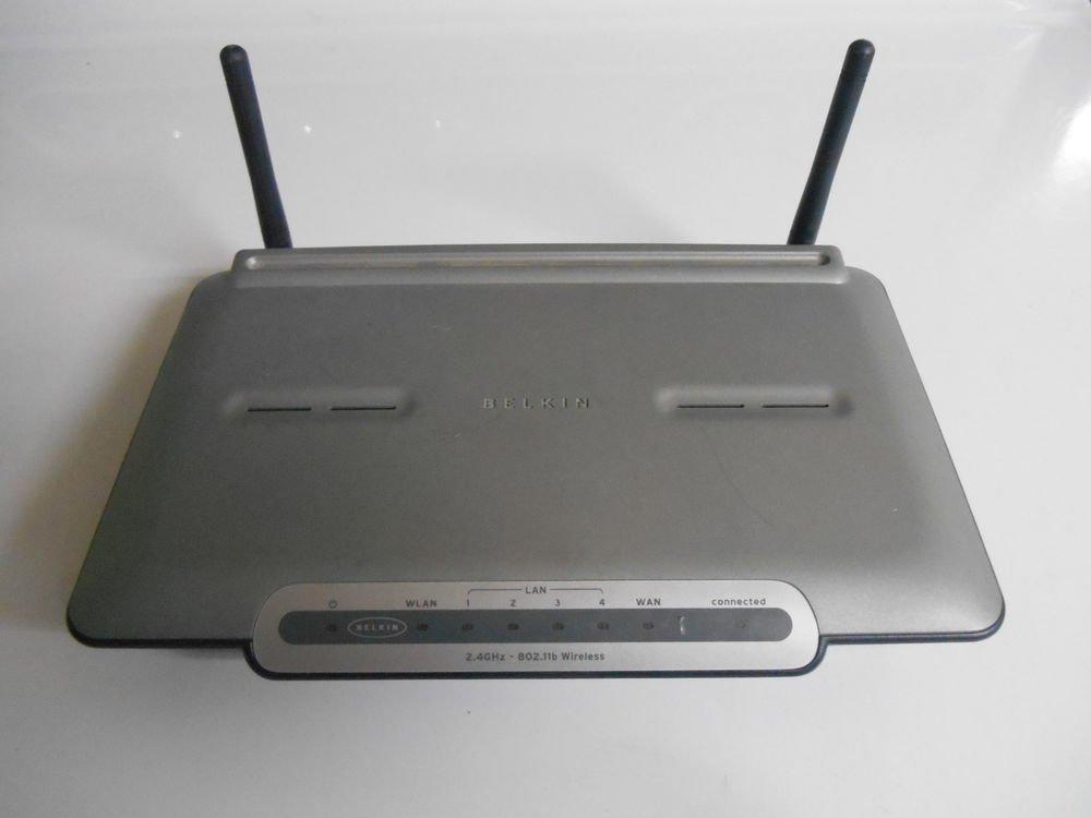 Belkin F5D6231-4 4-Port Wireless B Router (F5D6231-4-APL)