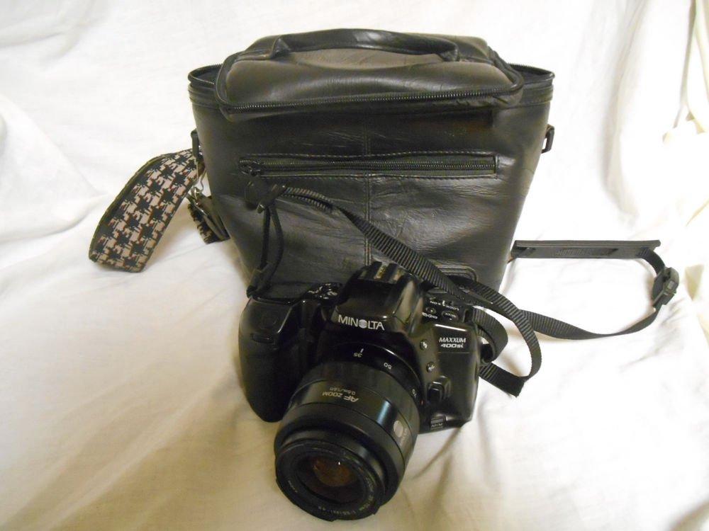 Minolta Maxxum 400si 35mm Film Camera with Minolta 35-70mm AF lens