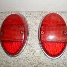 Vintage VW ORIGINAL TAIL-LIGHT PAIR NOS HELLA VW BEETLE 1962 1963 1964 1965 1966 1967