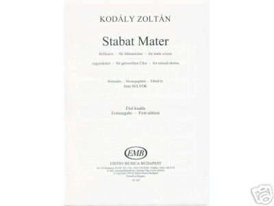 STABAT MATER Kodaly Zoltan