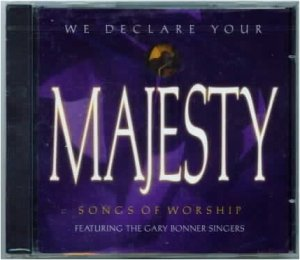WE DECLARE YOUR MAJESTY Listening CD Brand New