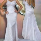 Sphagetti strap Wedding Dress