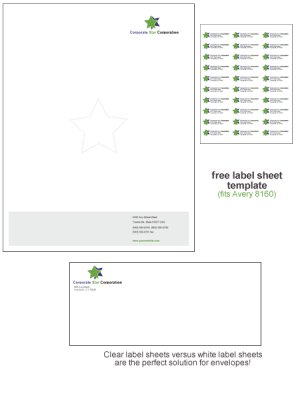 Microsoft Word Stationery Template: Corporate Star