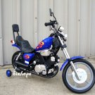 Harley Style, Kids Electric, Battery Powered Ride on Toys, Motorcycle - Blue