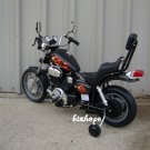 Harley Style, Kids Electric, Battery Powered Ride on Toys, Motorcycle - Black