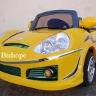 BENZ STYLE, KIDS ELECTRIC, BATTERY POWERED RIDE ON TOYS CAR, REMOTE CONTROL, MP3 FUNCTION, YELLOW