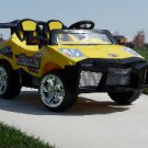 2 Seater, Lamborghini Style, Electric Cars for Kids, 12V, Mini Motos,  Remote Control, MP3, Yellow