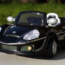 BENZ STYLE, KIDS ELECTRIC, BATTERY POWERED, RIDE ON CAR, REMOTE CONTROL,  MP3 FUNCTION - BLACK