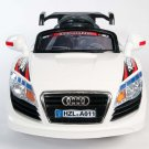 Kids Car, Audi R8 GT Racer, Battery Operated Ride on, Remote Control, MP3, White
