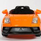 Lamborghini Kids Car, Racer X, Electric Cars for Kids, 12V,  Remote Control, MP3 Hookup, Orange