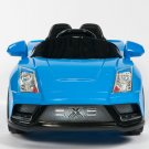 Lamborghini Style, Racer X, Kids Electric, 12V, Kids Ride on Car, Remote Control, MP3 Function, Blue