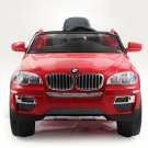 License BMW X6 Kids Electric Car, 12V, Ride on, Remote Control, MP3 Function, Red