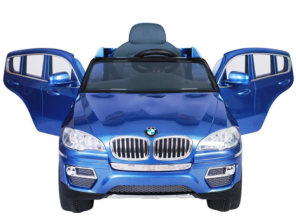 Licensed BMW X6 Kids Ride on Car, 12V, Electric, Remote Control, MP3 Function, Blue