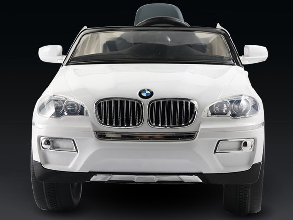 Licensed BMW X6 Kids Electric Car, 12V, Ride on, Remote Control, MP3 Function, White