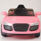 Audi R8 Style, Kids Electric Car, 12V, Ride On, Remote Control, Seatbelt, Mp3 Hookup, Pink