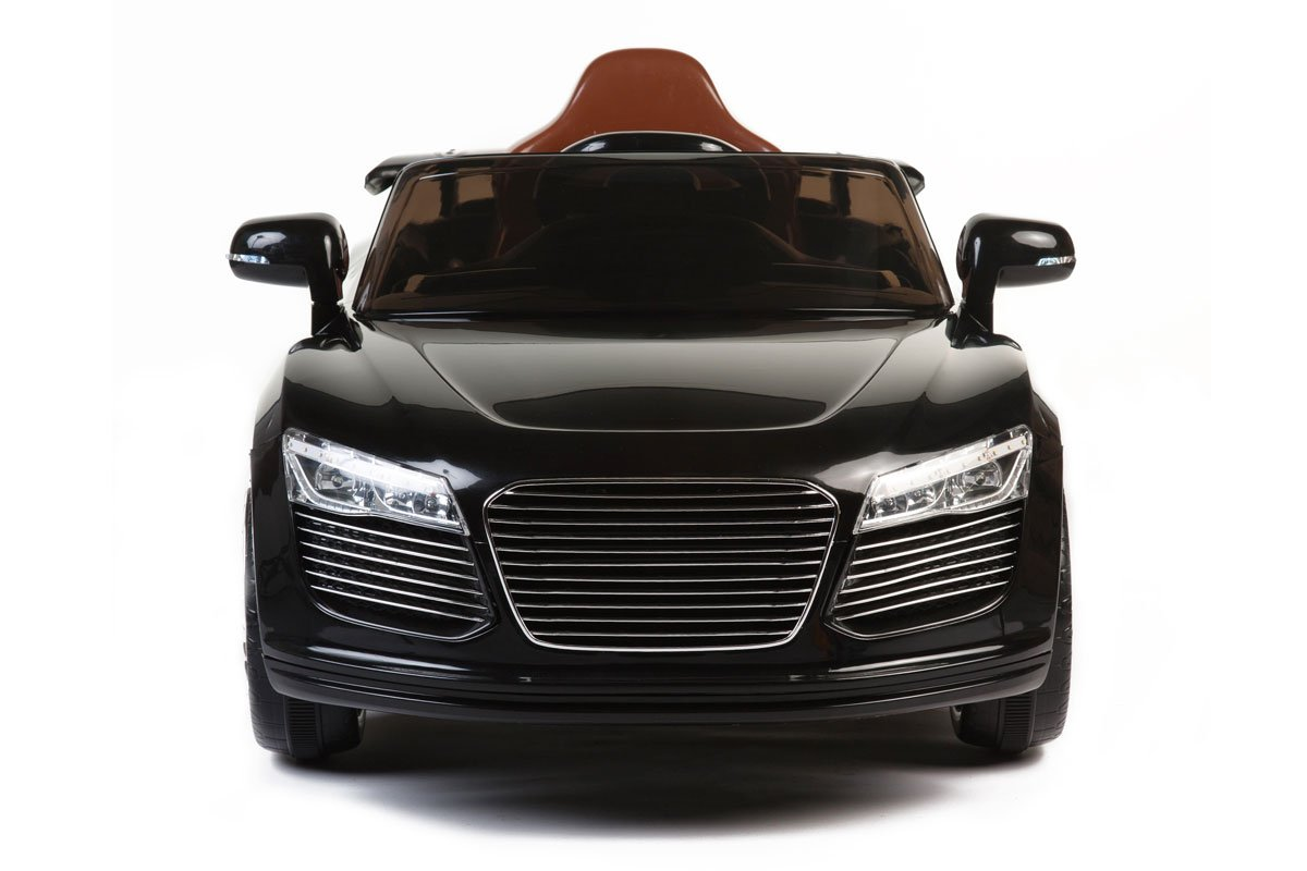 Audi R8 Style, Kids Electric Car, 12V, Ride On, Remote Control, Seatbelt, Mp3 Hookup, Black
