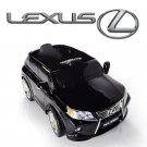 Licensed Lexus RX350, Kids Ride On Car, 12V, Electric, Remote Control, Seatbelt, Mp3 Hookup, Black