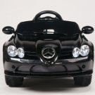 Licensed Mercedes Benz SLR 722S, Kids Ride on Car, 12V, Electric, Remote, Seatbelt, Mp3, Black