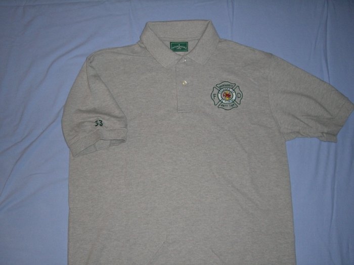 Gray Golf Shirt (L)
