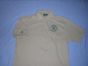 Tan Golf Shirt (L)