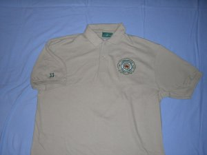 Tan Golf Shirt (XL)
