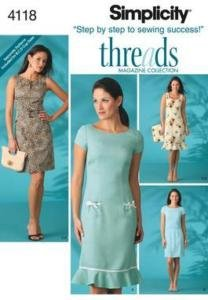 S2688 DRESS & BAG EASY SEWING PATTERN SIMPLICITY | eBay