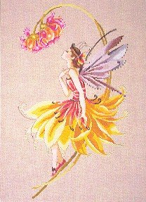 The Petal Fairy - Cross Stitch Chart