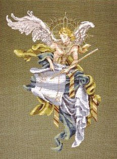 Archangel - Cross Stitch Chart