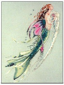 Mermaid of the Pearls - Cross Stitch Chart