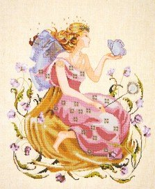 Butterfly Fairy - Cross Stitch Chart