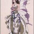 July's Amethyst Fairy - Cross Stitch Chart