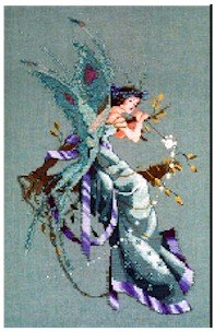A Midsummer Night's Fairy - Cross Stitch Chart
