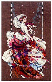 Blooming Bride - Cross Stitch Chart