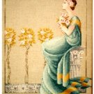 Damask Roses - Cross Stitch Chart