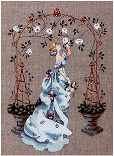 Rose Arbor - Cross Stitch Chart