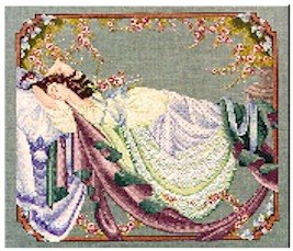 Sleeping Beauty - Cross Stitch Chart